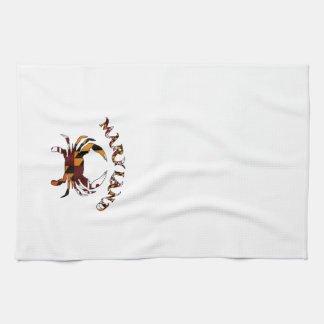 Maryland Flag Crab Towel