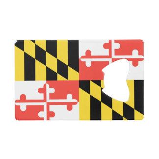 MARYLAND Flag Credit Card Bottle Opener