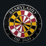"Maryland Flag Dartboard<br><div class=""desc"">Excellent quality dartboard ideal for your pub,  garage,  mancave,  or anywhere else you play!</div>"