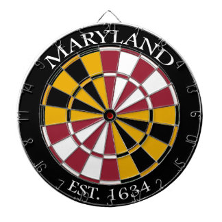 Maryland Flag Dartboard