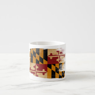Maryland Flag Espresso Cup