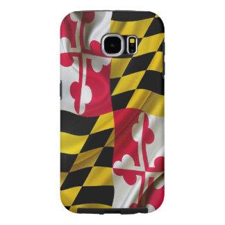 Maryland Flag Fabric Samsung Galaxy S6 Case