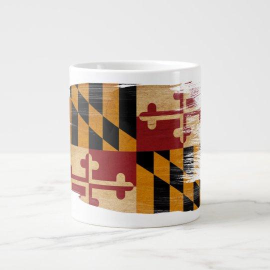 Maryland Flag Giant Coffee Mug
