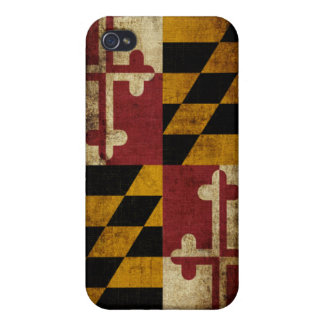 Maryland Flag iPhone 4/4S Cover