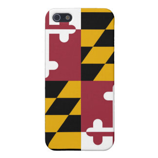 Maryland Flag iPhone 5/5S Cases