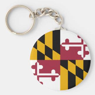 Maryland Flag Keychain