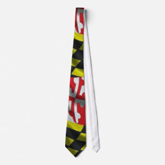 Maryland Flag (Large Print) Neck Tie