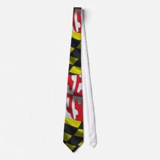 Maryland Flag (Large Print) Neck Tie