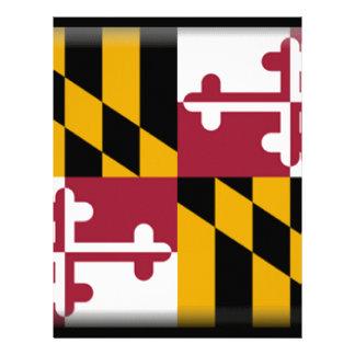 Maryland Flag Letterhead