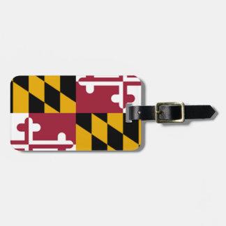 Maryland Flag Tag For Luggage