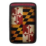 Maryland Flag MacBook Air Sleeves