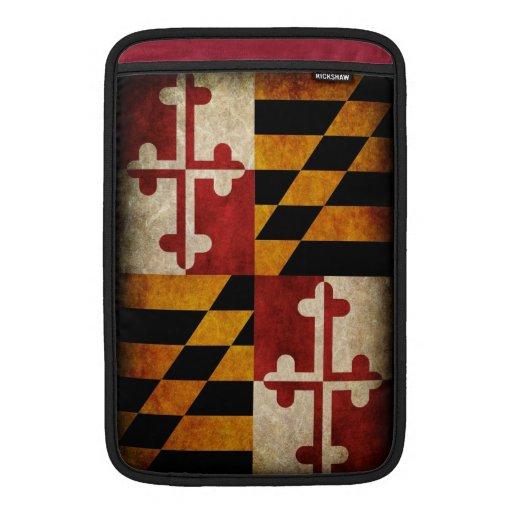 Maryland Flag MacBook Sleeve
