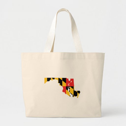 Maryland Flag Map Bags