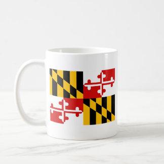 Maryland Flag + Map Mug