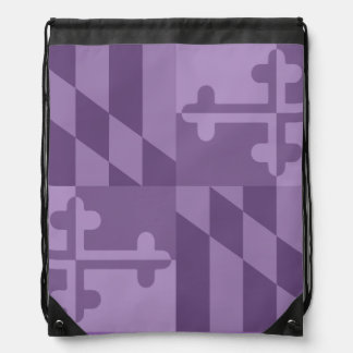 Maryland Flag Monochromatic bag - lavander