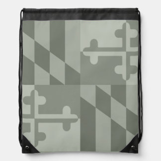 Maryland Flag Monochromatic bag - olive