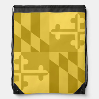 Maryland Flag Monochromatic bag - yellow
