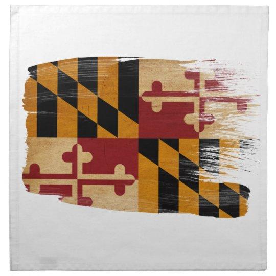 Maryland Flag Napkin