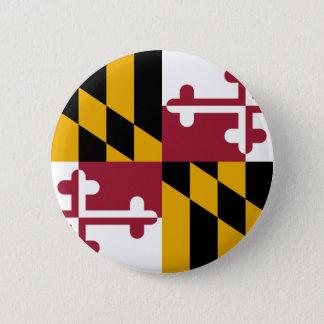 Maryland Flag Pinback Button