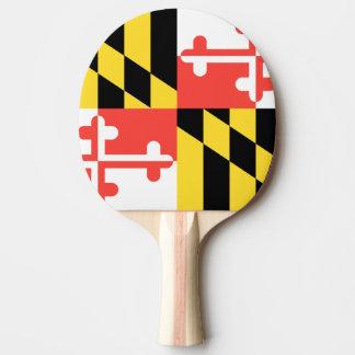 MARYLAND FLAG Ping-Pong PADDLE