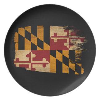 Maryland Flag Plate