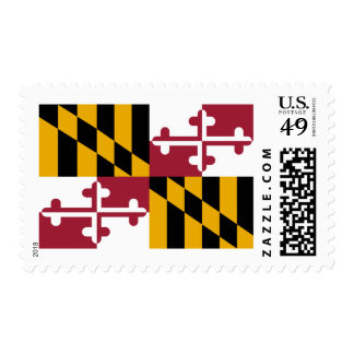 Maryland Flag Postage Stamps