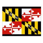 Maryland Flag Postcard