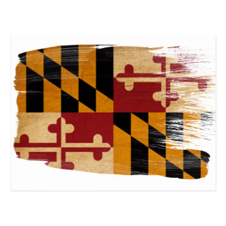 Maryland Flag Postcards