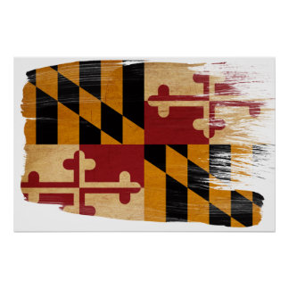Maryland Flag Posters