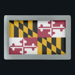 "Maryland flag rectangular belt buckle<br><div class=""desc"">Maryland flag</div>"