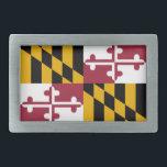 "Maryland flag rectangular belt buckle<br><div class=""desc"">Maryland flag</div>"