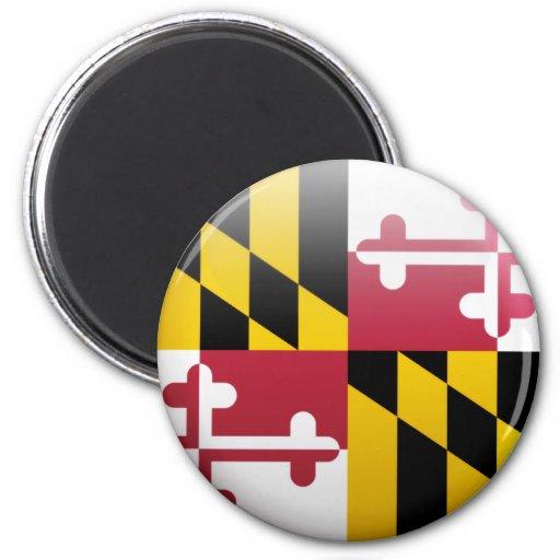 Maryland Flag Refrigerator Magnet