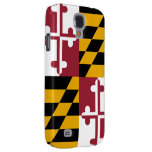 Maryland Flag Samsung Galaxy S4 Cover