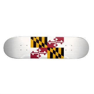 Maryland Flag Skateboard