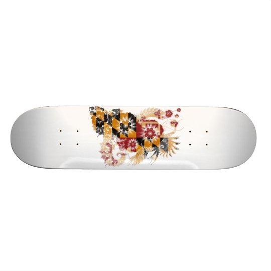 Maryland Flag Skateboard Deck