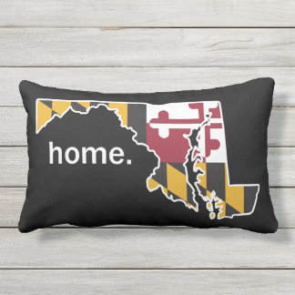 Maryland Flag/State home pillow