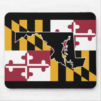Maryland Flag/State mouse pad