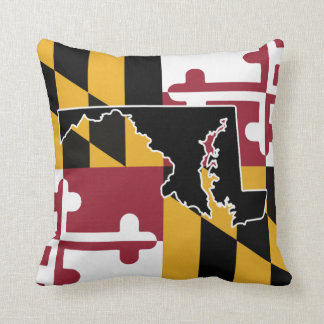 Maryland flag/State pillow