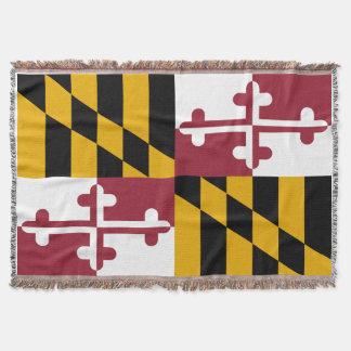 Maryland Flag Throw