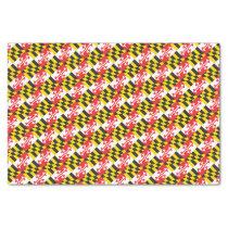 Maryland Flag Tissue Paper