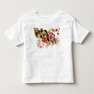 Maryland Flag Toddler T-shirt