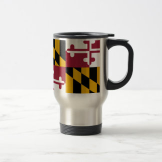 Maryland Flag Travel Mug