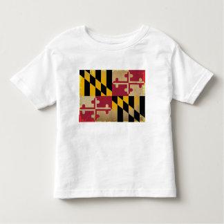Maryland Flag VINTAGE.png Toddler T-shirt