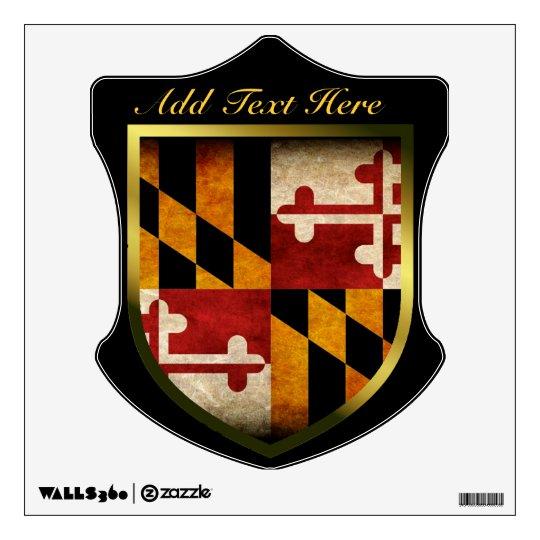 Maryland Flag Wall Sticker