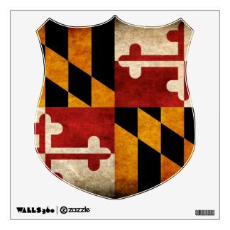 Maryland Flag Wall Skin