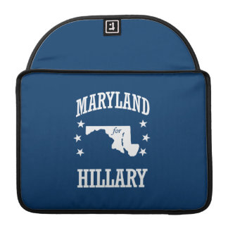 MARYLAND FOR HILLARY SLEEVES FOR MacBooks