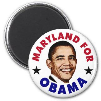 Maryland For Obama Fridge Magnet