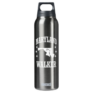 MARYLAND FOR WALKER 16 OZ INSULATED SIGG THERMOS WATER BOTTLE
