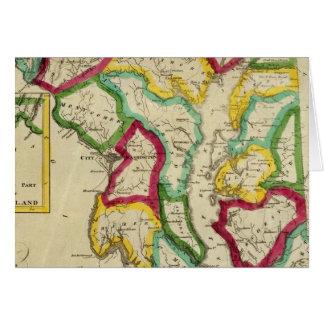 Maryland General Atlas Card