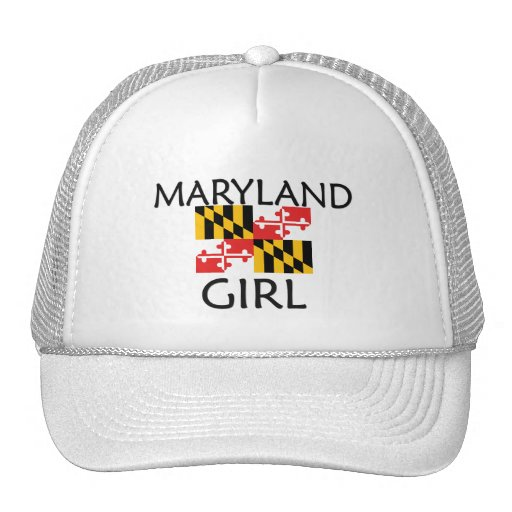 MARYLAND GIRL TRUCKER HAT